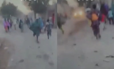 Moment Maiduguri residents ran for their lives as Boko Haram attacked their community (video)
