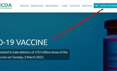 FG opens portal for online registration for COVID-19 vaccination