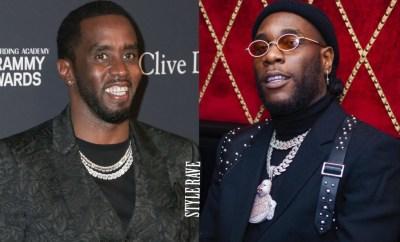 HipHop Mogul, Diddy congratulates Burna Boy on his Grammy Award