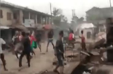 Cult members clash in Lagos (video)