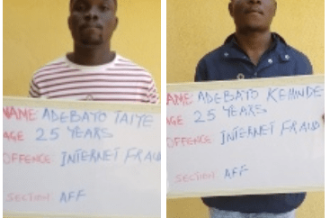 Twin brothers jailed for fraud in Kwara