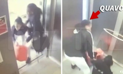 Video of Quavo and Saweetie having an altercation in an elevator surfaces