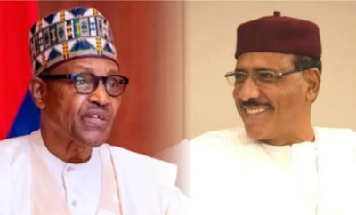 Buhari receives newly sworn-in President of Niger Republic