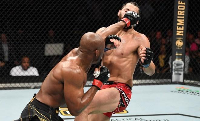 UFC star, Kamaru Usman knocks out Jorge Masvidal in second round to retain UFC welterweight title (Photos/Video)