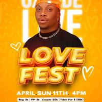 Oxlade Will Be Live At Love Fest, Ilorin on Sunday the 11th of April 2021