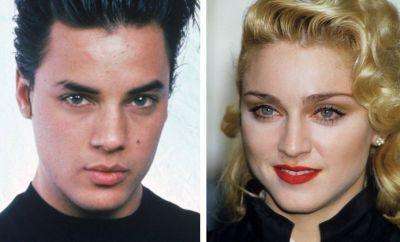 Nick Kamen and Madonna