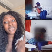 """While You Are in Jail, People Who Are Stronger Than You Will Take Advantage of Your Anus"""" - Actress Yvonne Jegede Curses Actor Baba Ijesha [Video]"""
