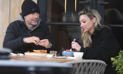 Ryan Giggs enjoys breakfast with new model lover as he