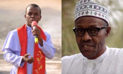 Father Mbaka admits discussing contract with Buhari, says it was a