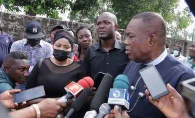 Akwa Ibom state government pays condolence visit to family of slain job seeker, Ini Umoren; vows to ensure justice is served (photos)
