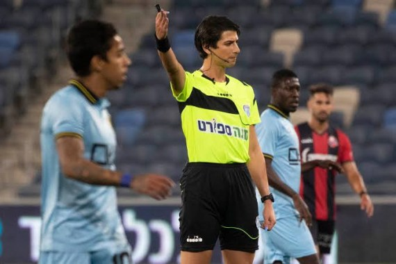 History made in Israel after Transgender referee officiates football match (photos)