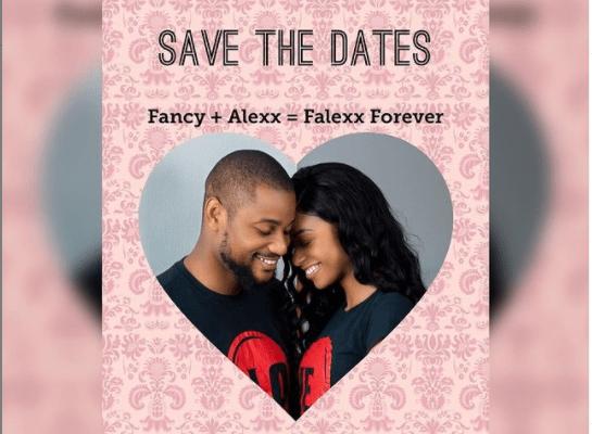 Alex Ekubo and his fiancee Fancy Acholonu announce their wedding dates