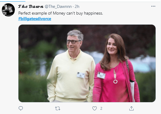 Nigerians react to divorce news of Bill Gates and Melinda Gates