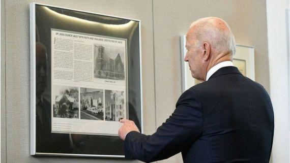Biden at the Greenwood Cultural Center