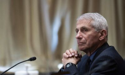 Dr Anthony Fauci, file picture 26 May 2021