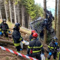 Italy Cable Car: Outrage As Video of The Crash Shown On TV