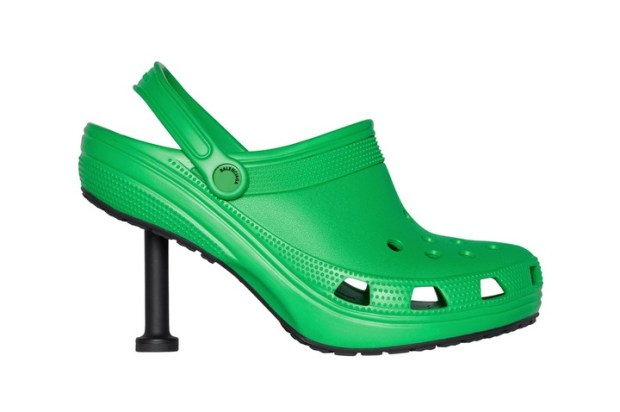 Balenciaga and Crocs team up to release stiletto heels inspired by the clogs (photos)