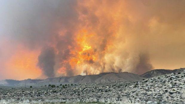The Beckwourth Complex fire