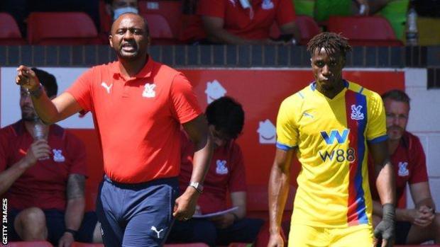 Vieira made a winning start as Palace boss after replacing Roy Hodgson