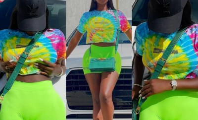 Reality TV star, Koko, responds after many people left comments on her page about her cameltoe (photos)