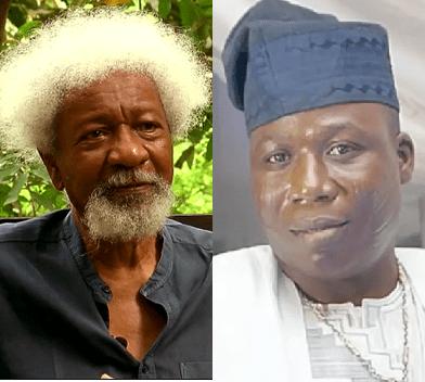FG should apologize to Igboho and stop pursuing him like a criminal, Wole Soyinka says
