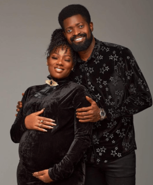 Comedian, BasketMouth and wife welcome their third child (photos)
