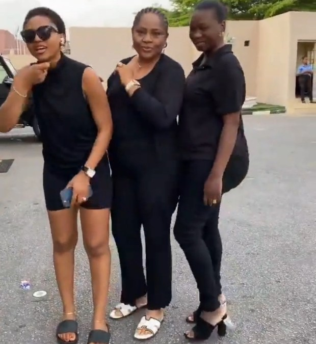 """""""There is nothing you say that will touch me. I learnt that from my mother"""" Regina Daniels (video)"""