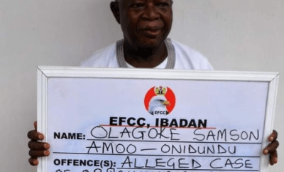 Oyo Baale docked for land scam