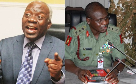 Buratai asked for Igboho to be handed over to him but was told Benin Republic follow the rule of law - Falana
