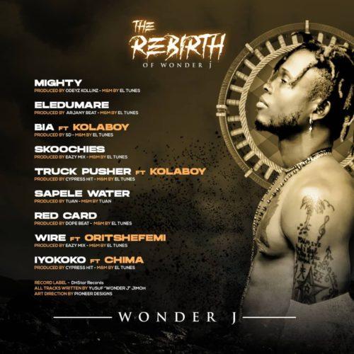 Wonder J - The Rebirth Of wonder J (EP)