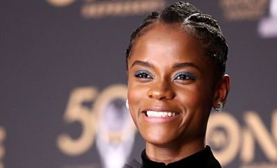 Letitia Wright attends the 50th NAACP Image Awards at Dolby Theatre on 30 March 2019 in Hollywood, California