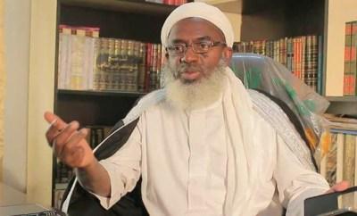 Sheik Gumi berates politicians who flew private jets to Yusuf Buhari
