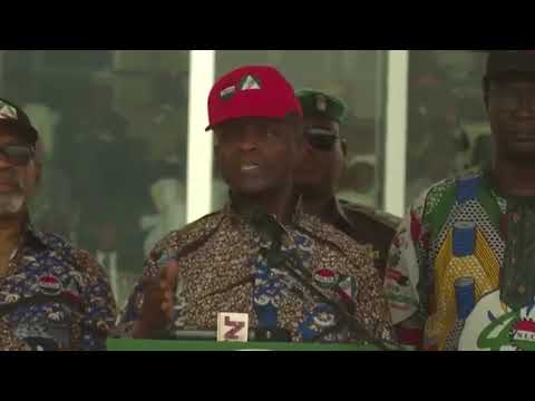 The Vice President Prof Yemi Osinbajo Honoured With An Endorsement By A New Societal Group Called The New Tribe – TNT