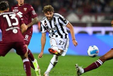 Juventus midfielder Manuel Locatelli