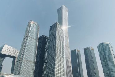Buildings at the centre of Beijing's business district - 24/10/21