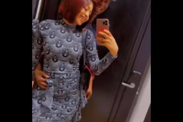 Regina Daniels and husband Ned Nwoko pack on the PDA as they vacation in Amman, Jordan (video)