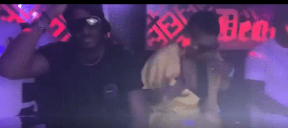 Tuface and Annie Idibia spotted at a party in Abuja last night (video)