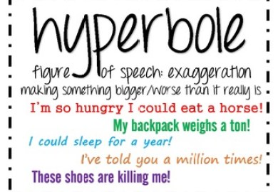 Define Hyperbole And Examples