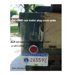 tail light wiring cj3b 22 wiring diagram images wiring diagrams creativeand  co jeep cj2 jeep cj3b