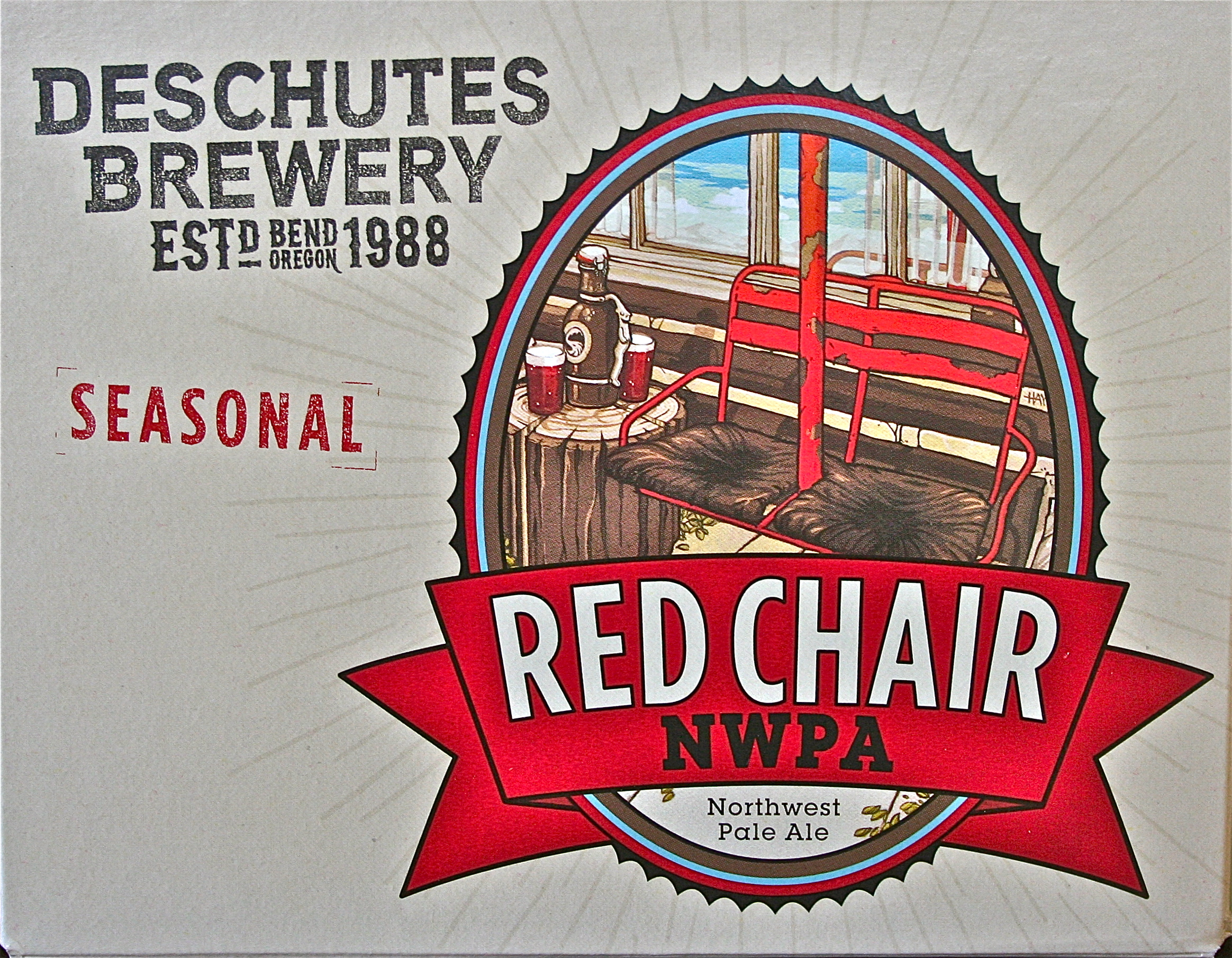 deschutes red chair best chairs braxton swivel glider brewery nwpa 48degrees