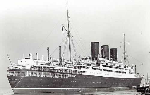 Trump's mother immigrated to America from Scotland aboard the SS Transylvania