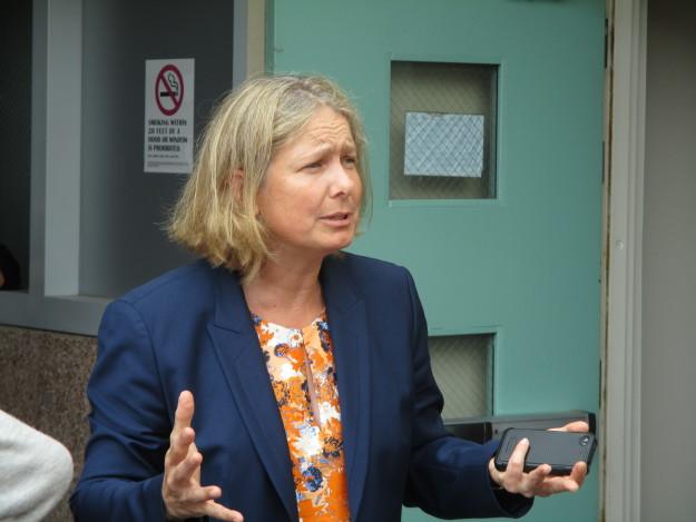 Susan Lamb, vice chancellor, defends the class cuts