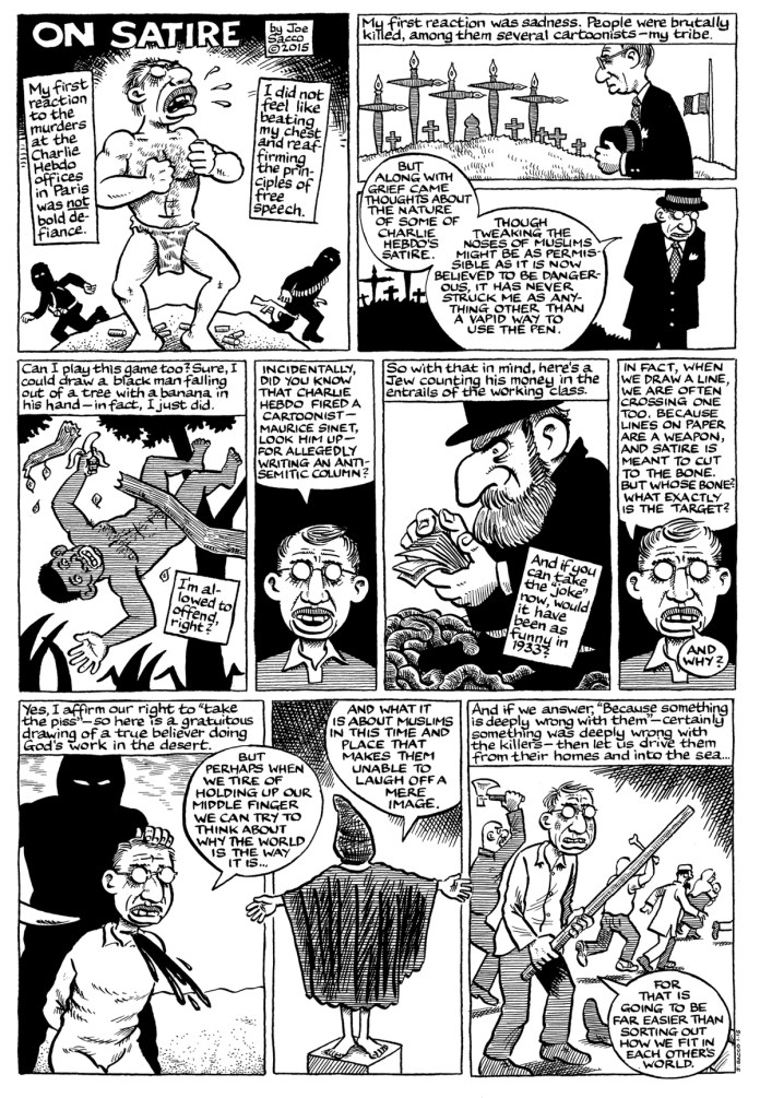Bay Area cartoonists respond to the Charlie Hebdo massacre