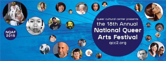 National Queer Arts Banner