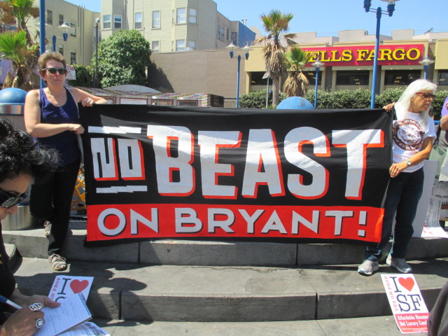 The Beast on Bryant project that won at the Board of Supes is very different from what the developer first offered