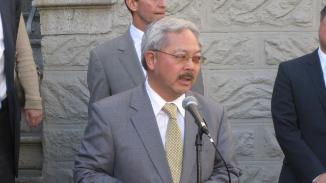 You'd think Mayor Lee would at least address the allegations, but nothing so far