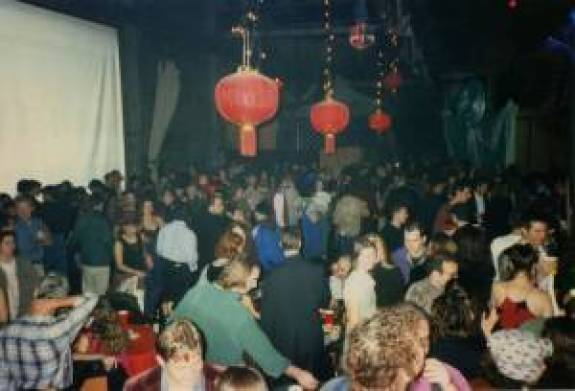 NYE 1997 at the Mission's CELL Space (RIP), pulled from the collective's website archived by the Art and Activism's History Collection Lab.