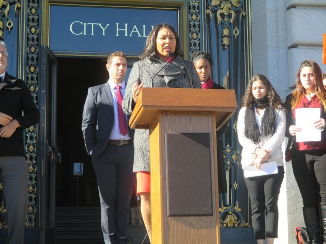 Sup. London Breed has a very mixed record on housing