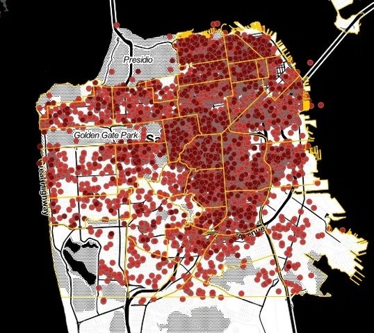 There are more than 7,000 Airbnb listings in SF, and more than 90 percent are still illegal