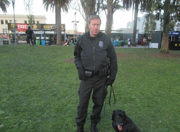 This federal agent was brought in from Wyoming, with his dog